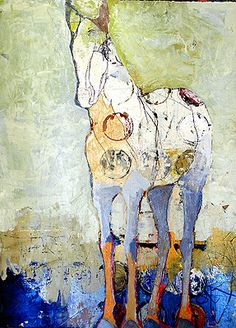 ♞ Artful Animals ♞ bird, dog, cat, fish, bunny and animal paintings - Jylian Gustlin Abstract Animals, Abstract Art, Abstract Landscape, 3d Studio, Equine Art, Horse Art, Art Plastique, Animal Paintings, Medium Art