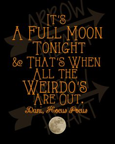 PRINTABLE Hocus Pocus Halloween Quote 8x10 by ArrowHeartDesign, $2.00