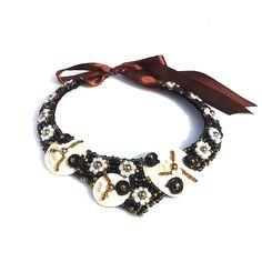 404 Page, Handmade Jewelry, Necklaces, Handmade Jewellery, Jewellery Making, Diy Jewelry, Collar Necklace, Wedding Necklaces, Craft Jewelry