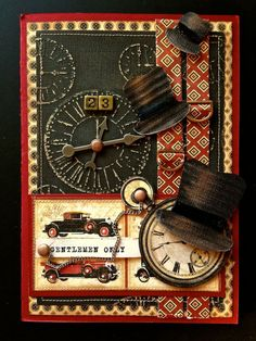 graphic 45 masculine cards - Bing Images