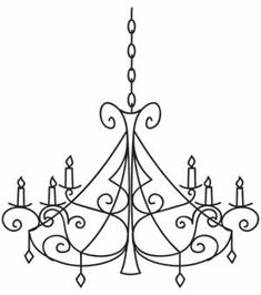 Candelabra | Urban Threads: Unique and Awesome Embroidery Designs