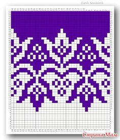 Fair Isle Knitting Patterns, Sweater Knitting Patterns, Knitting Charts, Knitting Stitches, Knitting Designs, Hand Knitting, Crochet Patterns, Cross Stitch Bird, Cross Stitch Borders