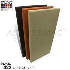 """Acoustimac DMD-442 Acoustic Panels 48""""X48""""X2"""""""