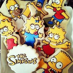 The Simpsons Cookies