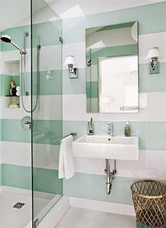Líneas en las paredes engañan al ojo | Decorar tu casa es facilisimo.com