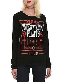 HOTTOPIC.COM - Twenty One Pilots Red Box Girls Pullover Top