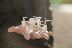 Easily capture HD photo and video with @flyzano, an autonomous, high-flying, palm-sized drone