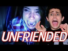REACTING TO THE UNFRIENDED TRAILER - YouTube