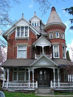 100s of Different Victorian Homes   http://www.pinterest.com/njestates1/victorian-homes/ …     Thanks To http://www.njestates.net/real-estate/nj/listings  B.F. Bissman House in Mansfield, OH