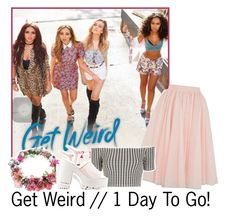 """Get Weird // 1 Day To Go!"" by albamonkey ❤ liked on Polyvore featuring Ted Baker, Topshop and Nly Shoes"