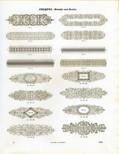 Miller & Richard Cheques type specimen by Dunwich Type, via Flickr
