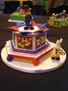 trumpton cake by daisycupcake, via Flickr