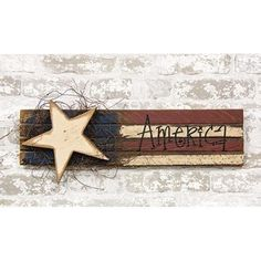 American Flag Crafts, American Flag Wood, Flag Painting, Painting On Wood, Country Crafts, Americana Crafts, Country Decor, Barn Wood Crafts, Fox Decor