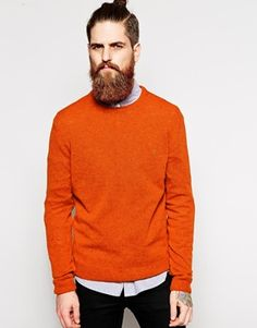 Farah Vintage Jumper in Lambswool EXCLUSIVE