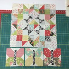 """134 Likes, 12 Comments - Peggy ☎️☕️ (@paront1222) on Instagram: """"Fig Tree 2016 BOM -month 5 blocks. That 20-1/2 inch block was so fun to make! (Would love to figure…"""""""