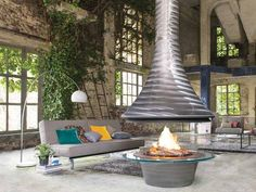 Open Fireplace. JC Bordelet Design