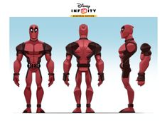 ArtStation - Disney Infinity - DEADPOOL, Vanja Todoric Character Model Sheet, Game Character Design, Character Design Animation, Character Modeling, Character Creation, Character Design References, Character Design Inspiration, Comic Character, Character Concept