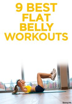 Beat the bulge with the best flat belly workouts!