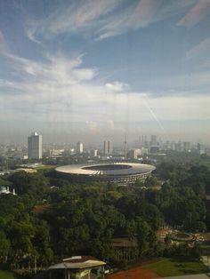 Gedung olah raga GELORA BUNG KARNO, Senayan, Jakarta