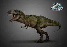 T-Rex by MANUSAURIO on DeviantArt   Jurassic World - #jurassicworld