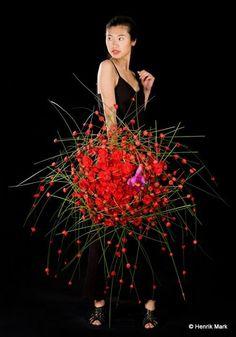 Stein Are Hansen current Interflora World Cup Holder Norwegian Master & tutor of the Fusion Flowers Summer School 2014