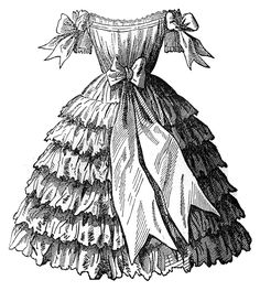 Victorian Fashion Dresses | Victorian Fashion - Children's Party Dresses - The Graphics Fairy