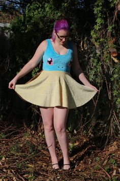 squirtle skater dress