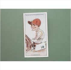 S DONOGHUE SINGLE CIGARETTE CARD NO 18 OGDEN'S 1929 Tilleys of Sheffield