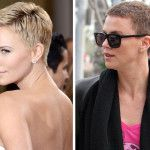 Image detail for -Charlize Theron revealed her latest hairstyle on the Academy Awards red carpet tonight. The actress shaved off her tresses in June last year for her role in the movie . Boy Haircuts Short, Hot Haircuts, Hairstyles Haircuts, Hairdos, Ramos Haircut, Charlize Theron Short Hair, Mens Hairstyles 2014, Crop Haircut, Pixie Haircut