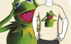 KERMIT THE FROG   T shirt