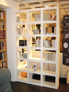 hausbibliothek regalwand im wohnzimmer m belideen. Black Bedroom Furniture Sets. Home Design Ideas