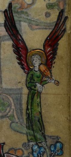 Detail from medieval manuscript, British Library Stowe MS 17 'The Maastricht Hours', f158r