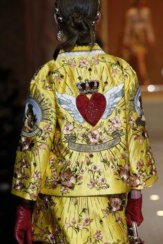 Dolce & Gabbana  Detalles de la Colección Ready-to-Wear otoño-invierno 2018/19.  Semana de la Moda de Milán. Fotos detalles: Marcus Tondo / Indigital.tv.