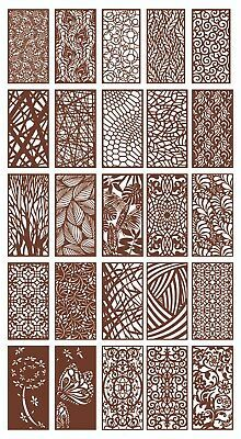 You will get only digital file & Great File of Dxf patterns of Plasma, Waterjet, Laser CNC projects. The file contain CNC model to cut & Windows, Mirror, and more& like what you see in the product picture. Laser Cut Screens, Laser Cut Panels, Metal Panels, Fence Panels, Living Room Partition Design, Room Partition Designs, Cnc Cutting Design, Laser Cutting, Gate Design
