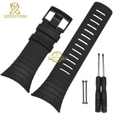 $36.00 (Buy here: https://alitems.com/g/1e8d114494ebda23ff8b16525dc3e8/?i=5&ulp=https%3A%2F%2Fwww.aliexpress.com%2Fitem%2FSilicone-rubber-watchband-Smart-watches-strap-waterproof-25mm-black-wristwatches-band-Free-tools-sport-smart-bracelet%2F32668341489.html ) Silicone rubber watchband Smart watches strap waterproof 25mm black wristwatches band Free tools sport  smart bracelet for just $36.00