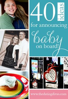 PERFECT pregnancy announcement ideas!
