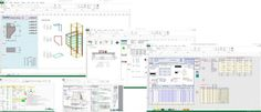 Sheet Pile Wall Design Excel Spreadsheet - If you are in the process of decorating your house the topic of Inside Wall Style will abandon many stumped. Autocad, Concrete Calculator, Finite Element Method, Retaining Wall Design, Deep Foundation, Hospital Architecture, Software, Tools For Teaching, Civil Engineering