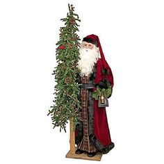 "Elegant Christmas II Santa 57"" tall from Ditz Designs"