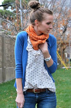 Merrick's Art // Style + Sewing for the Everyday Girl Modest Fashion, Teen Fashion, Fashion Outfits, White Outfits, Cool Outfits, Polka Dot Cardigan, Online Clothing Stores, Everyday Fashion, Autumn Winter Fashion