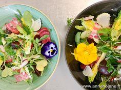 Salade de légumes crus Agriculture Raisonnée, Legume Bio, Fresh Rolls, Cobb Salad, Carpaccio, Ethnic Recipes, Food, Ideas, Chopped Salads