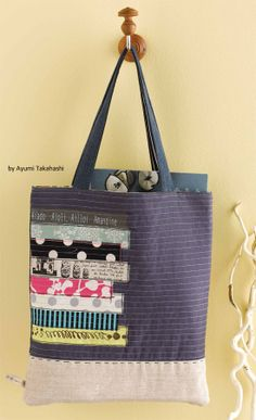 Whether you're carrying books or essentials for a day out, this sturdy bag does the trick. Get the instructions for making this bag pattern, free.