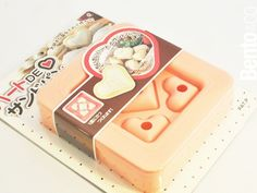 Heart Sando, for making little heart shaped sandwiches perfect for fitting into your bento.  <3