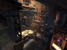 Post with 990 votes and 67217 views. Tagged with art, photo, cyberpunk, workstation; Cyberpunk City, Environment Concept Art, Environment Design, Spaceship Interior, Neon Noir, Futuristic Architecture, Fantasy Landscape, Space Travel, Environmental Art