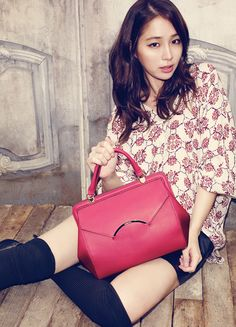 Lee Min-jung for Vincis Bench's F/W 2013 Campaign