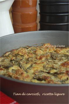Tian di carciofi, ricetta ligure Un piatto che non vi deludera': ricetta della nonna!