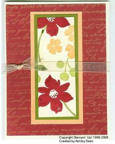 Best Blossoms OSW by AshleyAnne - Cards and Paper Crafts at Splitcoaststampers