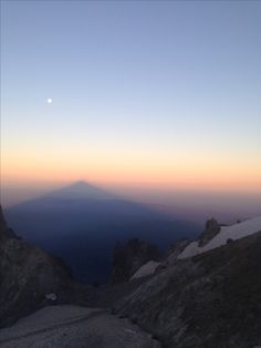 The shadow • Mt. Hood • August 2015
