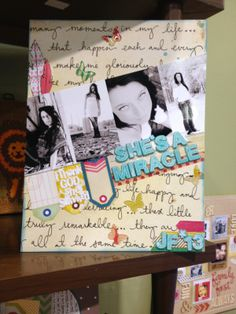 scrapbook  layout featuring the  cha2014 release Shape Studio Tool  Butterfly.  epiphanycrafts bccd793d8bc