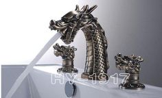 what???  Should I love this or hate this dragon faucet?