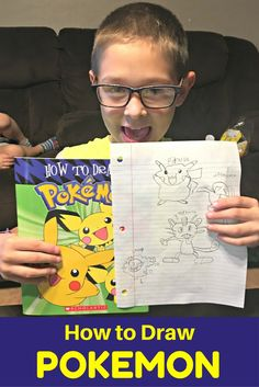 Learn How to Draw Pokemon with this BOOK!